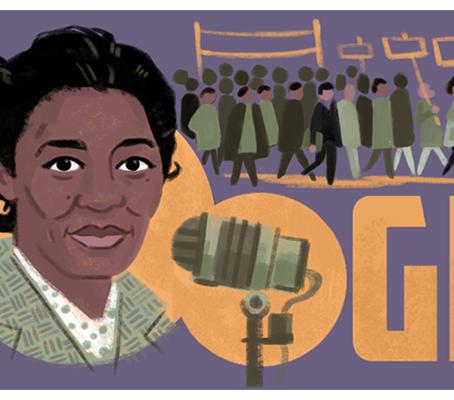 Google Doodle celebrates Claudia Jones during Black History Month UK
