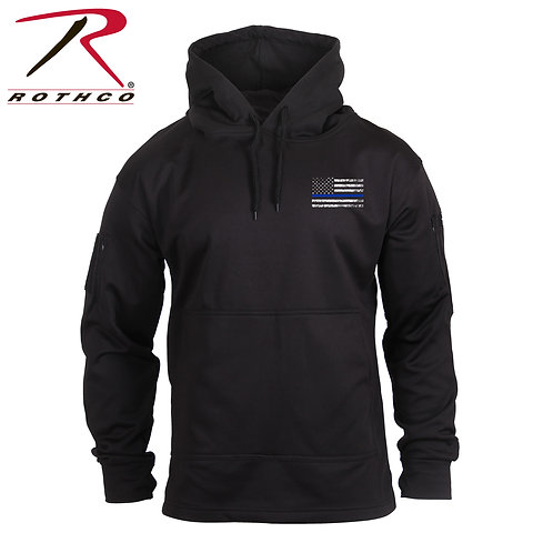 Rothco Thin Blue Line Conceal Carry Hoodie