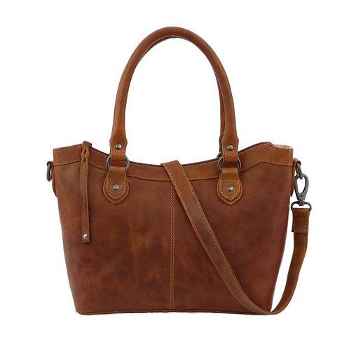 Concealed Carry Sadie Leather Satchel