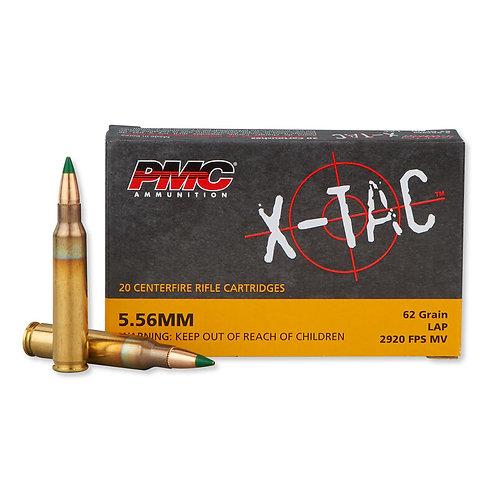 X-TAC 5.56mm 62gr LAP - 20r