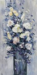 White Floral Bouquet IV