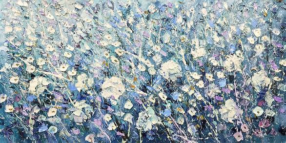 Silver Flowers II