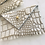 Thumbnail: Glitter Alligator Envelope Clutch