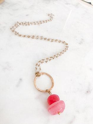 Cherry Drop Necklace
