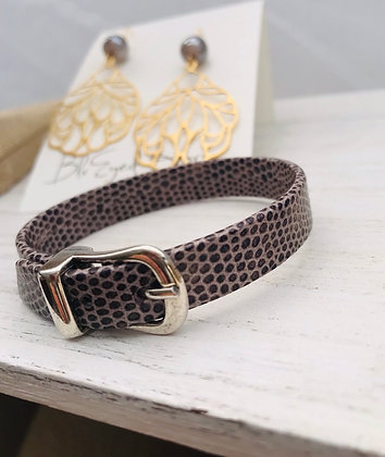 Downtown Leather Bracelet