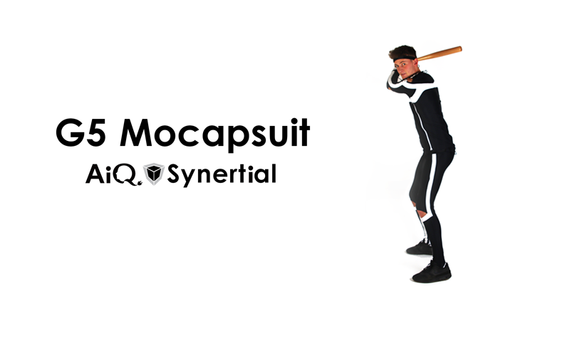 AiQS G5 Mocapsuit 2021 - Motion Capture Suit for Animation, Sports and Bio-mechanics