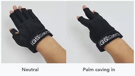 Palm Flex Sensors - 13 And 16-Sensor Gloves Include A Palm-flex Sensor For Greater Accuracy - Cobra Gloves