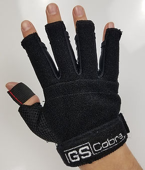 Cobra Gloves With 7, 13 & 16-Sensor Models With Detachable Electronics; Change Sizes, Change Sides, In Minutes