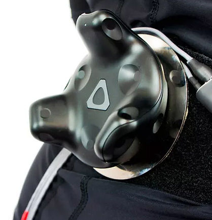 G4 Mo-cap suit - Slap-on The Wireless Vive 'Puck' Anywhere & Use Additional 'Pucks' For Robust Sitting / Reclining