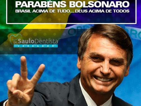 Parabéns, Bolsonaro!