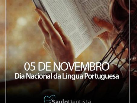 DIA NACIONAL DA LÍNGUA PORTUGUESA