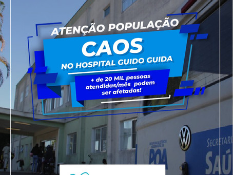 HOSPITAL GUIDO GUIDA PODE FECHAR