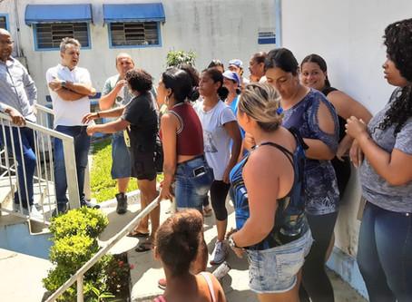 FRENTE DE TRABALHO REIVINDICA CESTA BÁSICA