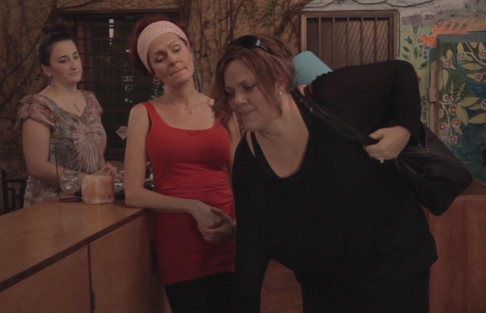 Kathleen, Jane, Yoga Attendent