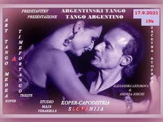 Pričenjamo s plesno sezono! Pobližje spoznajte tango in se nam pridružite.