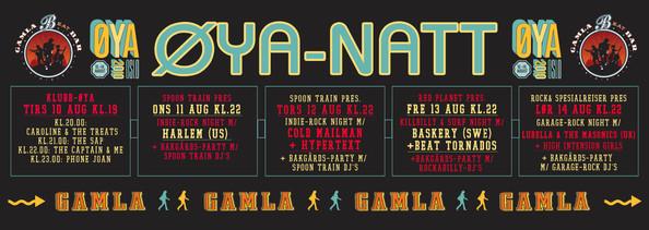 Banner ØYA Natt