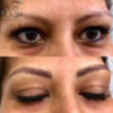 Check out these beautiful new brows! Wow