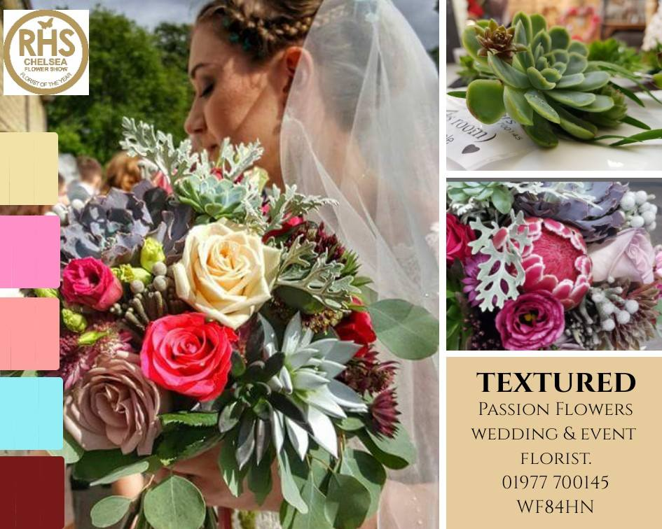 WEDDING FLOWERS Passion Flowers Pontefract WF8 4HN