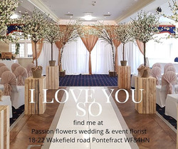 #weddingstyling for hire 🌼 at Passion #flowers #weddings and events #Pontefract