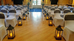 Our lanterns enhance all #weddingday aisle.jpg Add them to your wedding flowers packages.jpg Also in