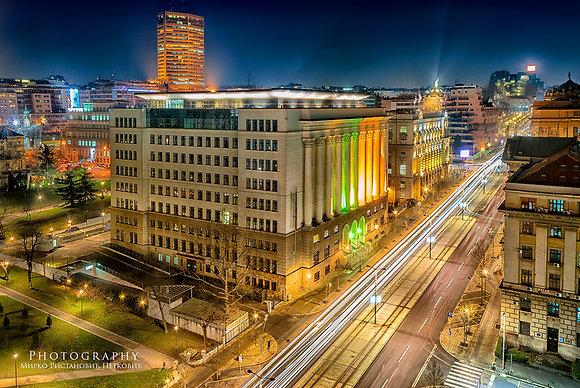 Nemanjina Street Sparkling Lights