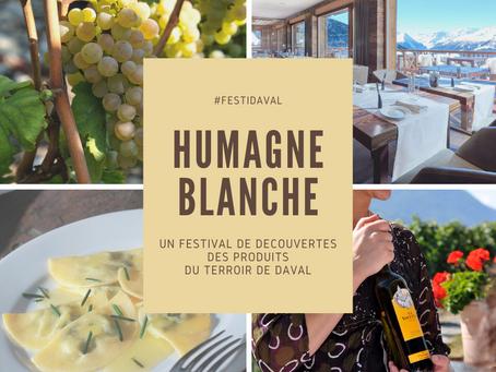 #Festidaval : Humagne Blanche