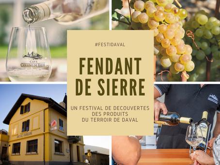 #Festidaval : Fendant de Sierre Marque Valais