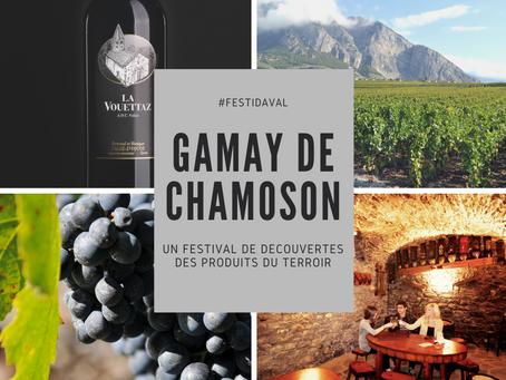#Festidaval : Gamay de Chamoson