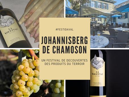 #Festidaval: Johannisberg de Chamoson