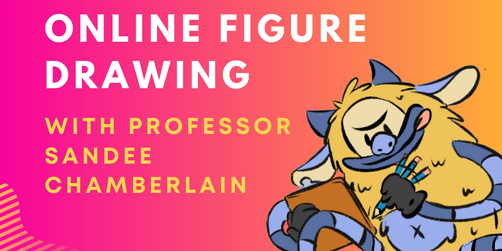 Monthly Online Figure Drawing