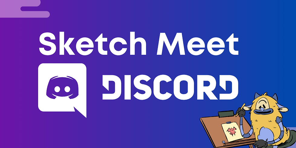 Monthly Sketch Meet on DISCORD
