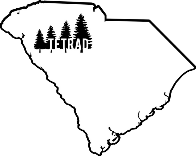 South Carolina with Tetrad Trees