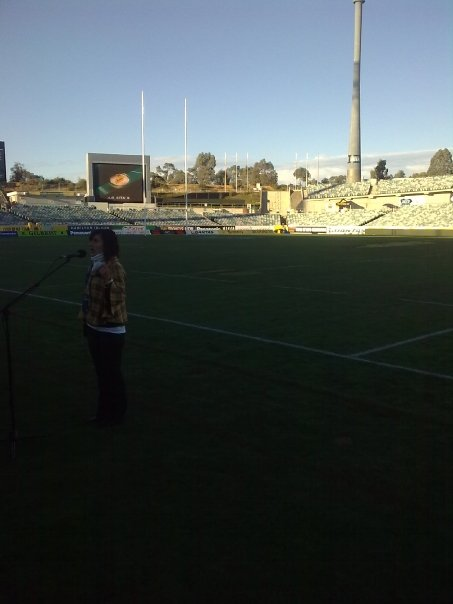 Rugby Anthem Rehearsal