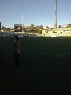 Rugby Anthem Rehearsal
