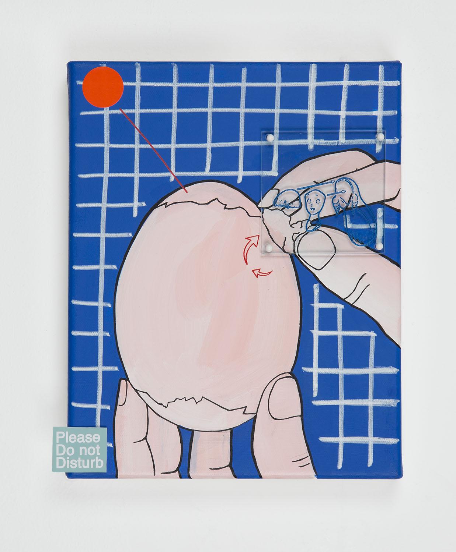 Untitled (Peeling Skin)