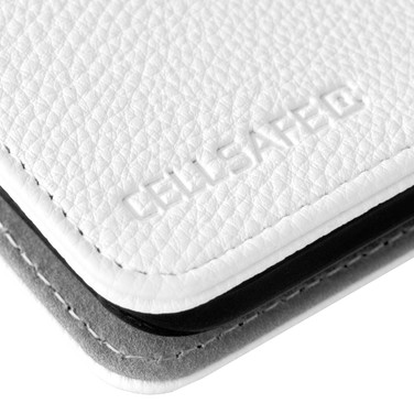 CellSafe - White Leather - Detail - 300d
