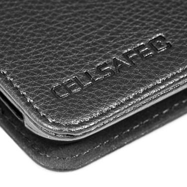 CellSafe - Black Leather - Detail - 300d