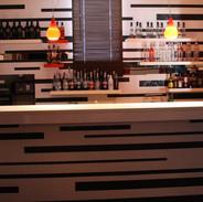 Widok na drugi bar