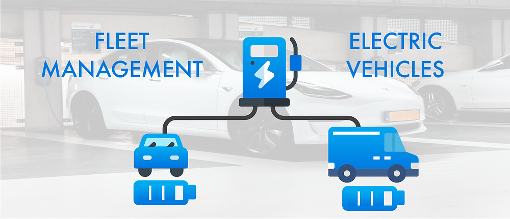 Combine fleet management and electric vehicle charging
