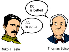 What is better: AC or DC current?