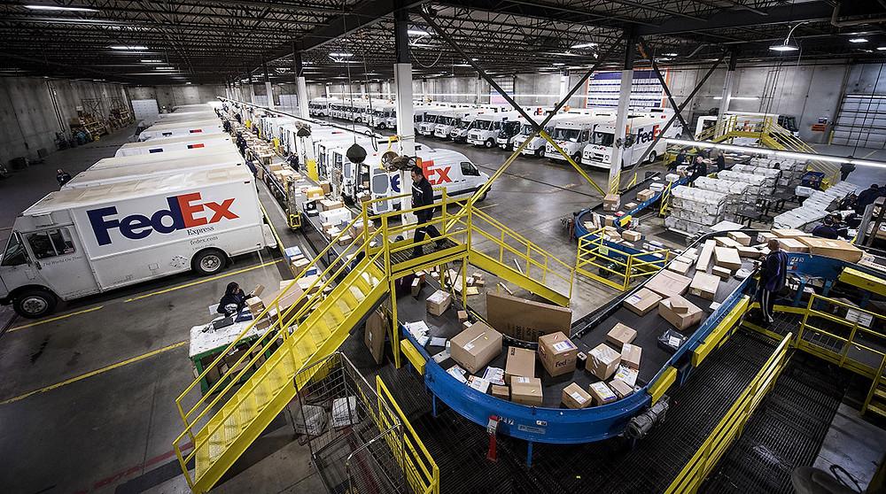 Smart Charging for EV fleets like FedEx