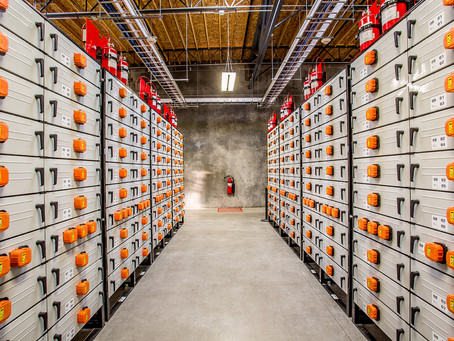 Here is why we are going to see more large batteries in our electric grid in future