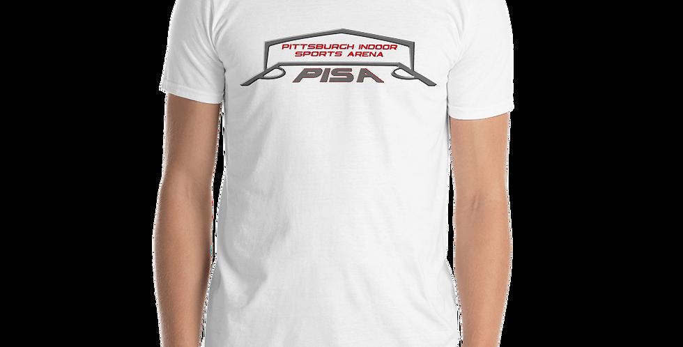 Men's PISA Logo 2020 Basic Short-Sleeve Tee Shirt