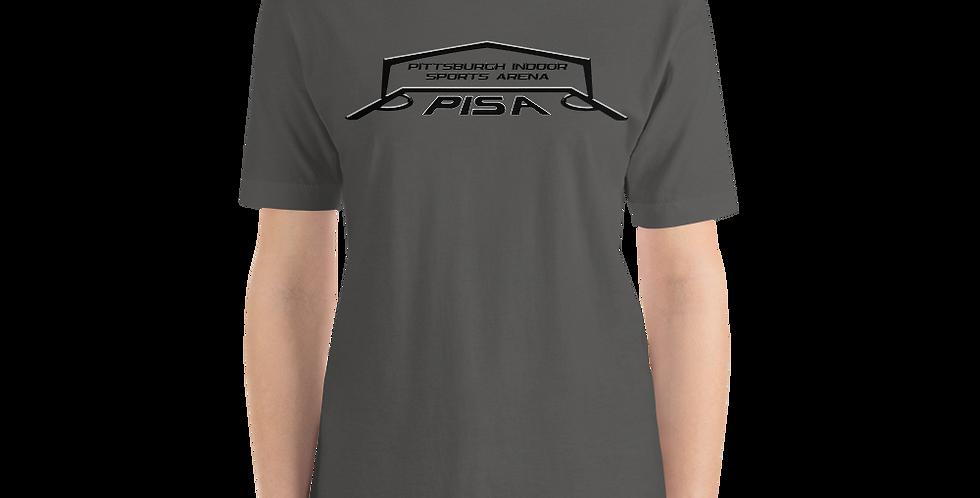 Women's Blackout PISA Logo Premium Short-Sleeve Tee Shirt