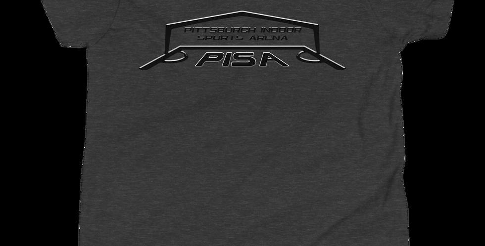 Blackout PISA Logo 2020 Youth Short Sleeve Tee Shirt