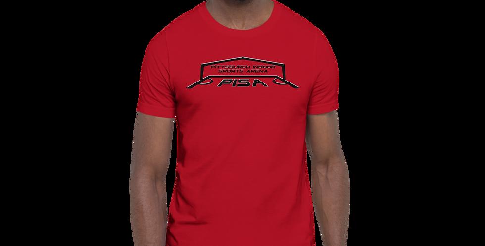 Men's Blackout PISA Logo 2020 Premium Short-Sleeve Tee Shirt