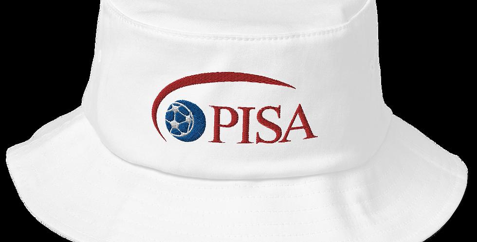 PISA Vintage Logo Old School Bucket Hat