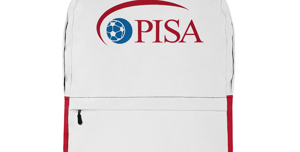 PISA Vintage Logo Backpack (Red Bottom)