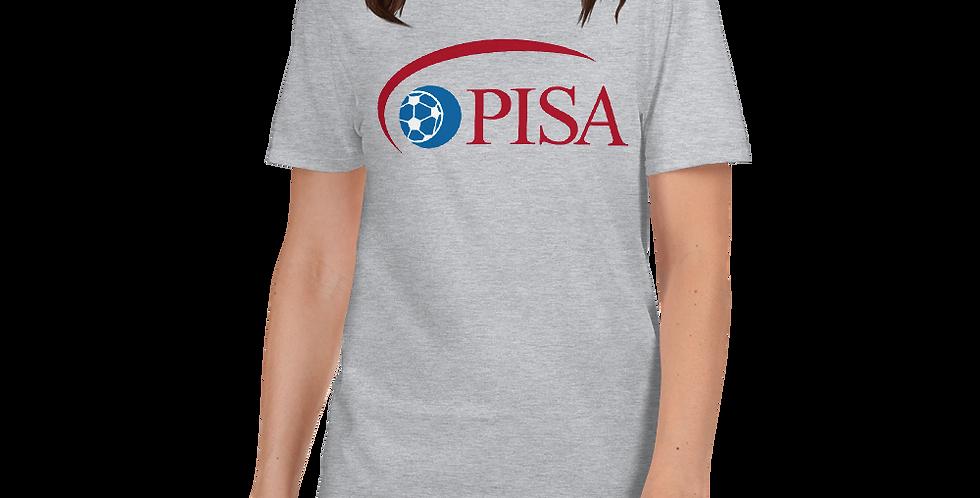 Women's PISA Logo Vintage Basic Tee Shirt