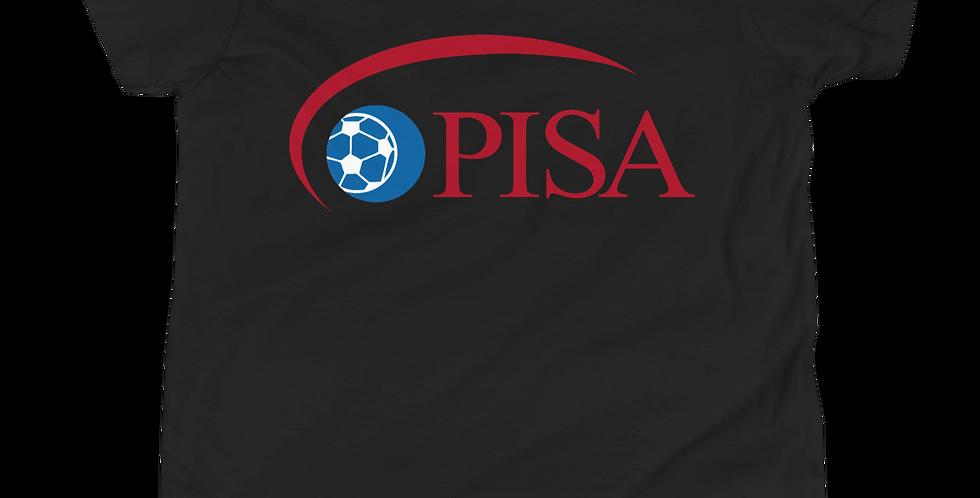 Youth PISA Logo Vintage Premium Short Sleeve Tee Shirt